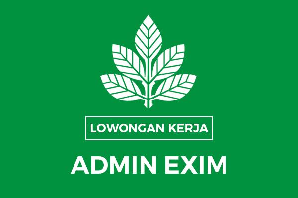 Lowongan Kerja Admin Exim